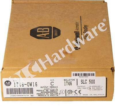 New Allen Bradley 1746-OW16 Series C 1746-0W16 SLC 500 16-Channel Output