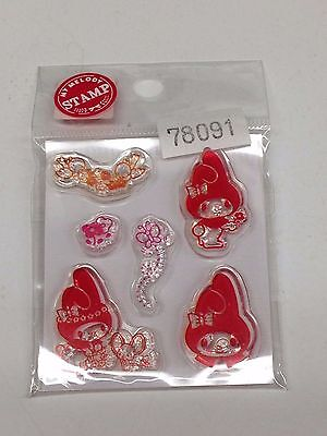 My Melody Clear Stamp Clear Silicon Stamps