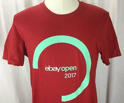 Ebay Open Live 2017 Las Vegas Swag Ebayana Red T Shirt Size XL Extra Large New