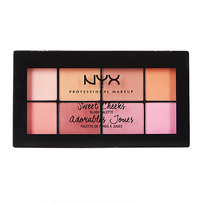 NYX Professional Makeup Sweet Cheeks Blush Palette - SCBP01
