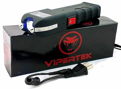 Vipertek VTS-989 Stun Gun Self Defense 180 BV Rechargeable + Holster Case