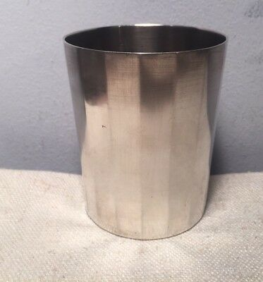 Cesar Tonnelier French Antique 950 Sterling Silver Beaker Cup