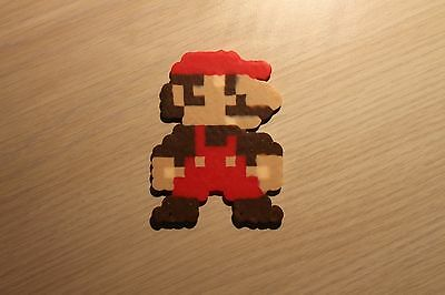 Mario Pixel Art Bead Sprite from Super Mario Bros