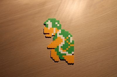 Hammer Bro Pixel Art Bead Sprite from Super Mario Bros for NES