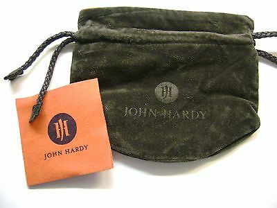 John Hardy XL Jewelry pouch with polishing cloth