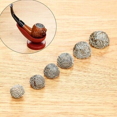 13-20mm Promotion Combustion Smoking Tobacco Pipe Metal Screen Ball Filter 10Pcs