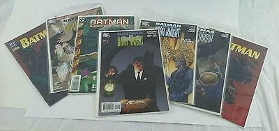 DC Vintage Batman Comics lot of Seven Legends Dark Knight and Others