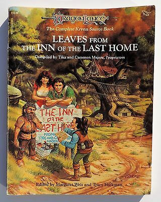 TSR Dragonlance Leaves From the Inn of the Last Home 1993