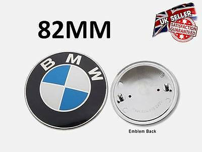 Bmw Front Bonnet Boot Rear Logo Badge Emblem 1 3 5 6 7 Z3