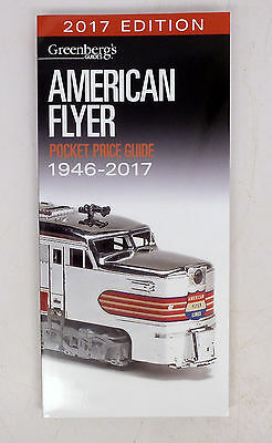 MM Greenberg's 2017 American Flyer Price Guide for 1946-2017 30th Edit.  NEW