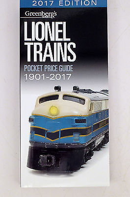 MM Greenberg's 2017 Lionel Pocket Price Guide for 1901-2017  NEW