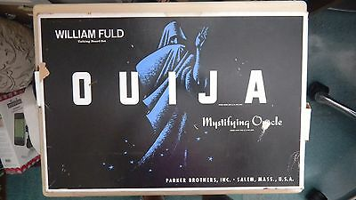 William Fuld Talking Board Set OUIJA  Mystifying Oracle by Parker Brothers