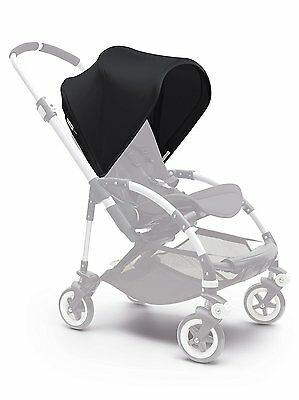 NEW Bugaboo Stroller BEE3 Sun Canopy BLACK Extendable