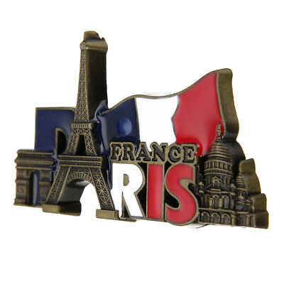 France Paris Landmark Tourist Travel Eiffel Tower Souvenir 3D Fridge Magnet Gift