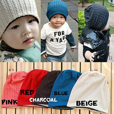 Baby Beanie Boy Girl Kids Children Beanie Hat Unisex