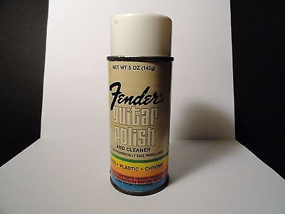 Vintage 1970's - Fender Guitar Polish and Cleaner Spray Can - CBS Era