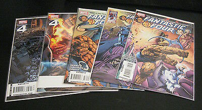 Lot of *24* FANTASTIC FOUR #568-576,583,585-587 +House of M/Dk Reign FF +4!  NM-