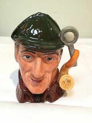 Royal Doulton Toby Jug ''the Sleuth'' D6635