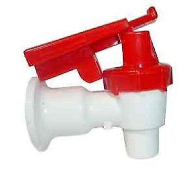 Sunbeam Water Cooler Faucet/Valve Tomlinson Handle with Child Safety RED (USA)