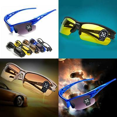 Unisex Night Driving Anti Glare Vision HD Glasses Prevention Driver Sunglasses