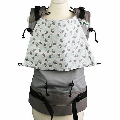 Buzzidil | Whale Rider | XL Versatile | Full Buckle Babytrage
