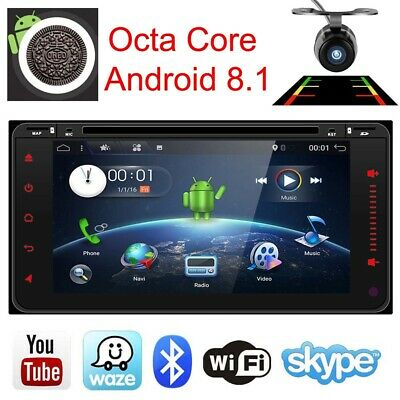 Android 7.1 CAR DVD Player GPS Stereo DAB+ CD SD for TOYOTA Corolla Hilux Prado