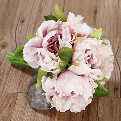 Artificial Fake Peony Rose Silk Flower Hydrangea Home Wedding Party Garden Decor