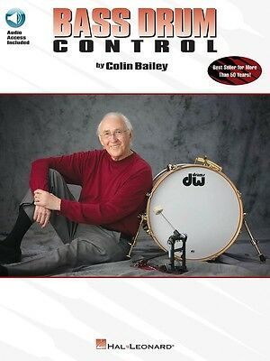Bass Drum Control - Revised - Drum Music Book with Audio Access
