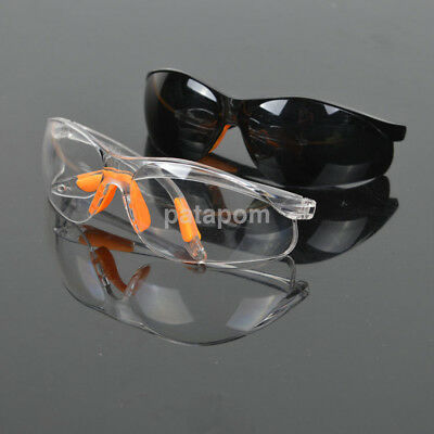 Clear Anti-impact Factory Lab Outdoor Work Eye Protective Safety Goggles Glasses