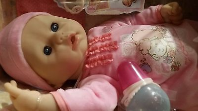 Baby Annabell 18 in. Girl Doll Interactive Lamb Cries Real Tears Zapf