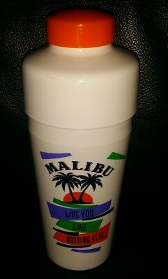 Rare Collectable Malibu Rum Drink Mixer Cocktail Shaker In Good Used Condition