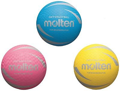 10 x Molten Softball S2V1250-Y S2V1250-P S2V1250-C soft Children's ball