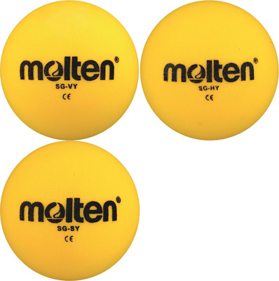 10 x Molten Foam ball SG-VY SG-SY SG-HY Soft Children's Game ball Kids