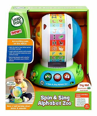 LeapFrog Spin and Sing Alphabet Zoo Ball