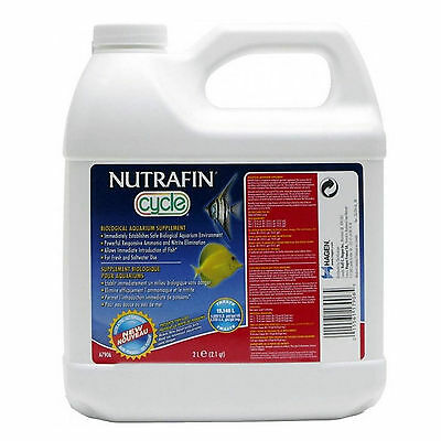 Nutrafin Cycle Biological Aquarium Supplement 2L Ammonia Nitrate Fish Tank FC94
