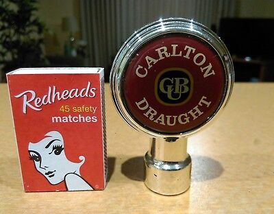 Carlton/Tooheys/Fosters Beer tap badge. Man cave/collectible. P/up vic 3805/post