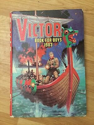 THE VICTOR BOOK FOR BOYS 1983 Annual In Excellent Condition FREE UK P&P