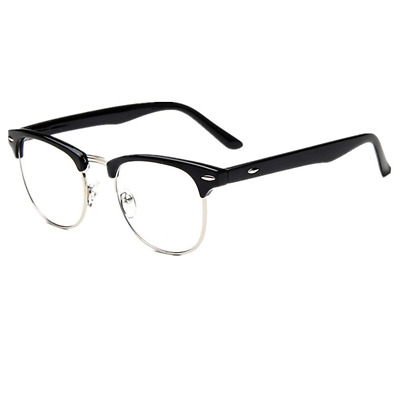 Mens Non Prescription Clear Lens Vintage Classic Glasses Stylish Eyewear Glass