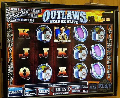 Outlaws Dead or Alive Cherry Master