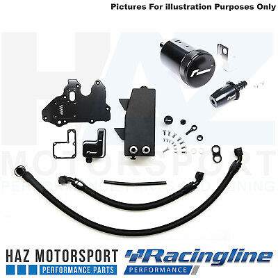 Racingline Performance Oil Catch Tank Can Kit + Washer Bottle S3 8V / MK7 GTI/R