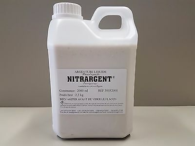 Argenture A Froid Nitrargent 2 Litres