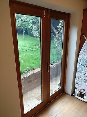 Upvc french doors picclick uk for Double wide patio doors