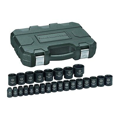 [NEW] GearWrench 84933 1/2 in. Drive Impact Socket Set 25-Piece
