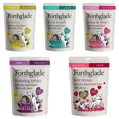 FORTHGLADE DOG TREATS Grain Free Baked Fresh Breath Joint Calming Training Treat