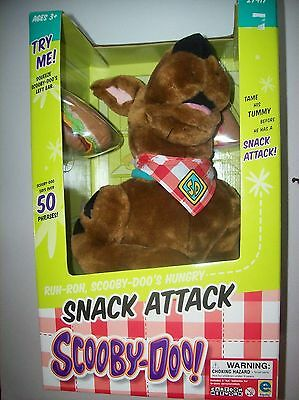 Vintage Snack Attack Scooby- Doo Doll New In Box