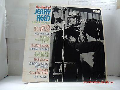 "Jerry Reed -(Lp)- The Best Of- ""when You're Hot You're Hot"" Rca 1981 Ri. Of 72"
