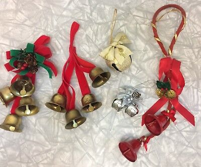 Lot of Christmas Bells Decorations