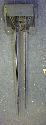 Set Of Original 1930s Gongs For Triple Weight Grandfather Clock (7)