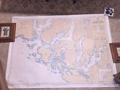 Canada BC Nautical Map Chart 3673 VANCOUVER ISLAND CLAYOQUOT SOUND TOFINO MILLAR