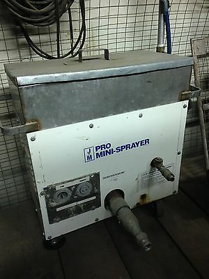J AND M PRO MINI SPRAYER FOR FIREPROOFING WALL TEXTURE wall acoustic